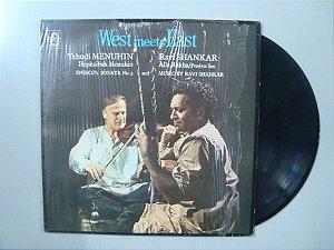 Disco de vinil - West Mee East - Yehudi Menuhin and Ravi Shankar