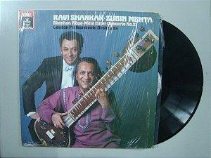 Disco de vinil - Ravi Shankar + Zubin Mehta
