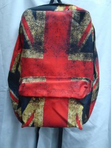 Mochila Escolar - Bandeira do Reino Unido / Inglaterra