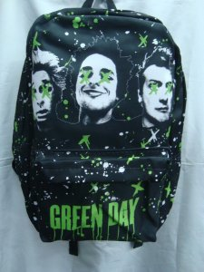 Mochila Escolar - Green Day