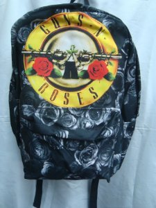 Mochila Escolar - Guns and Roses
