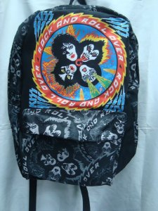 Mochila Escolar - Kiss - Rock and Roll Over