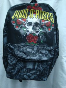Mochila Escolar - Guns and Roses - Caveira