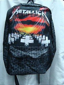 Mochila Escolar - Metallica - Master of Puppets
