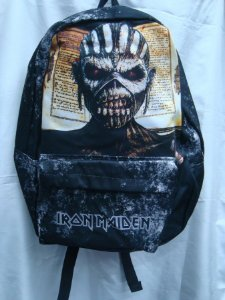 Mochila Escolar - Iron Maiden - The Book of Souls