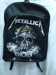 Mochila Escolar - Metallica - XXX