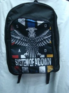 Mochila Escolar - System of a Down  - SOAD #2