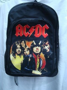 Mochila Escolar - AC DC - HIghway to Hell