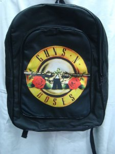 Mochila Escolar - Guns and Roses - Símbolo