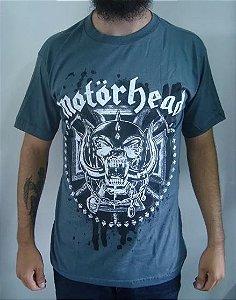Camiseta Cinza Motorhead