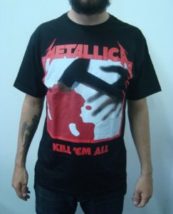 Camiseta Metallica - Kill'em All
