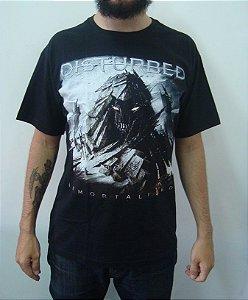 Camiseta Disturbed - Immortalized