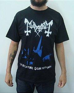 Camiseta Mayhem - De Mysteriis Dom Sathanas