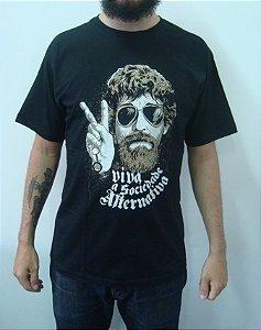 Camiseta Raul Seixas - Viva a Sociedae Alternativa