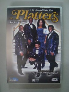 DVD Uma noite com The Platters - And Special Guests