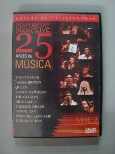 Dvd Saturday Night Live - 25 Anos De Música - Volume 2