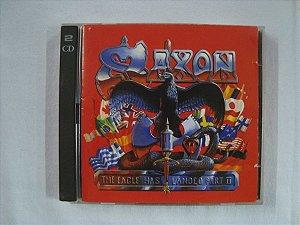 CD Saxon - The Eagle has landed Part 2 - Duplo