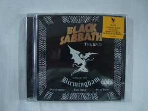 CD Black Sabbath - The End - Duplo