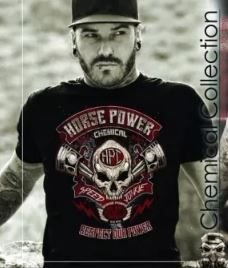 Camiseta Chemical Horse Power - Respect