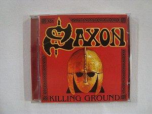CD Saxon - Killing Ground - Duplo