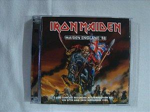 CD Iron Maiden - Maiden England '88 - Duplo