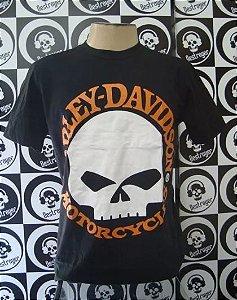 Camiseta Harley Davidson Motor Skull