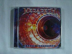 CD Megadeth - Super Collider - Importado