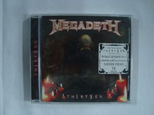 CD Megadeth - Thirteen - Importado