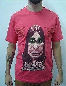 Camiseta Black Sabbath - Ozzy Caricatura