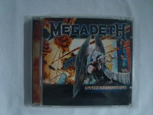 CD Megadeth - United Abominations - Importado