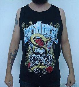 Camiseta Regata Guns and Roses - Caveira