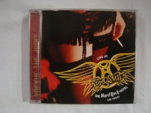 CD Aerosmith - Live at the Hard Rock hotel Las Vegas