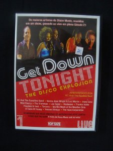 DVD Get Down Tonight - The Disco Explosion