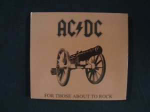 CD AC DC - For those about to rock