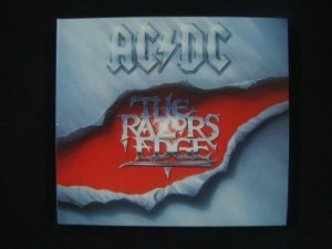 CD AC DC - The Razors Edge