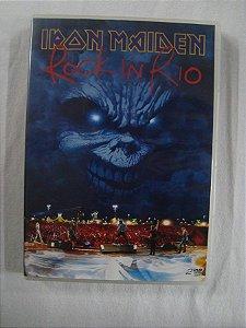 DVD Iron Maiden - Rock in Rio - Show + Extras