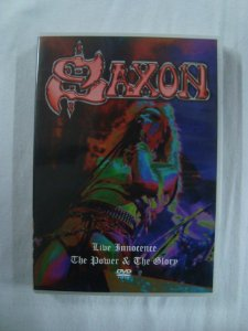 DVD Saxon - Live Innocence - The Power & The Glory