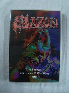 DVD Saxon - Live Innocence - The Power & The Glory