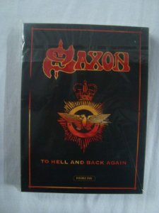DVD Saxon - To Hell and Back Again - Duplo