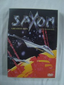 DVD Saxon - Greatest Hits - Live in Nothingham