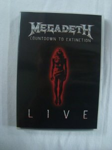 DVD Megadeth - Countdown to Extinction Live