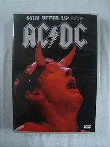 DVD AC DC - Stiff Upper Lip Live