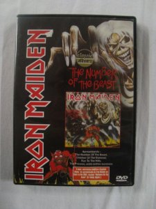 DVD Iron Maiden - The Number of the Beast