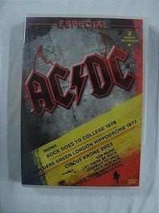 DVD AC DC - Especial - 2 Shows em 1 DVD