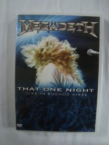 DVD Megadeth - That One Night - Live in Buenos Aires
