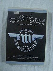 DVD Motorhead - The Birthday Party - XXX