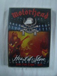 DVD Motorhead - Heart of Stone