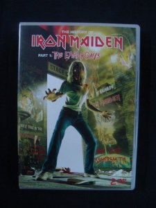 DVD Iron Maiden - History Part 1 - The Early Days - Duplo