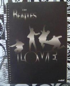 Caderno Escolar - The Beatles - Love