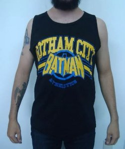 Camiseta Regata - Batman - Gotham City